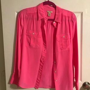 Jcrew silk shirt